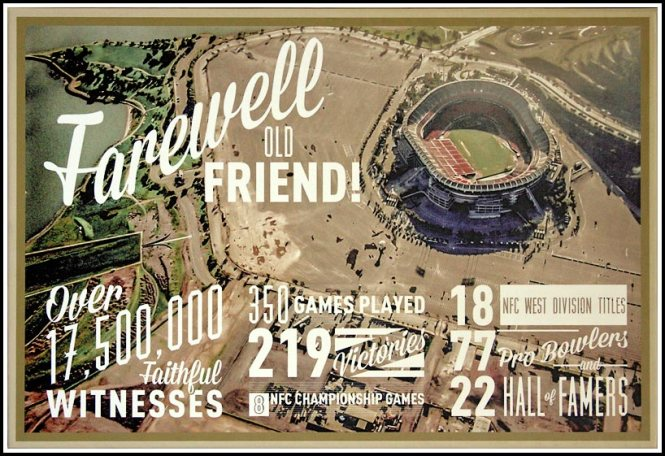 Números del Candlestick (49ers.com)
